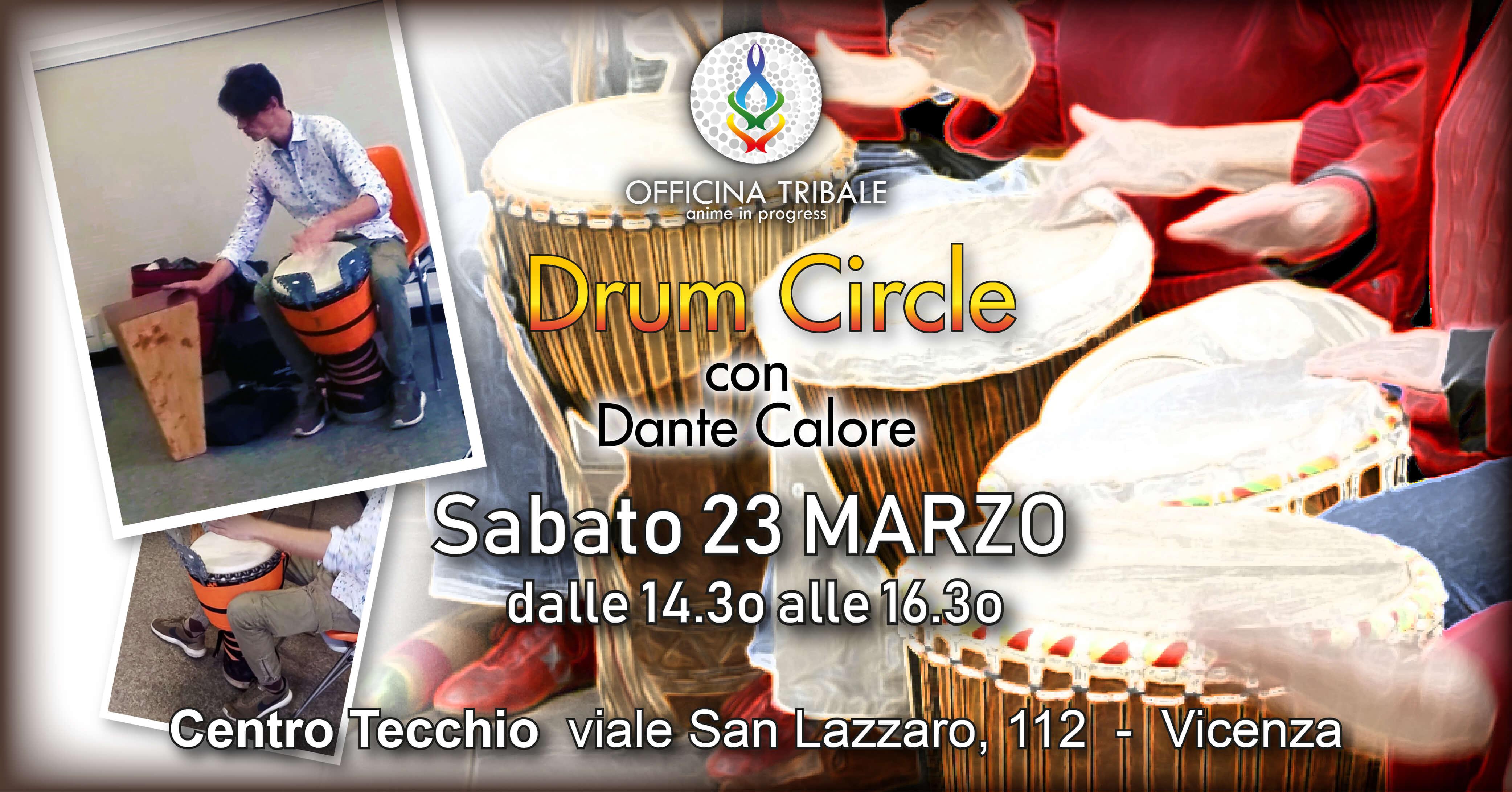 DRUM&DANCE CIRCLE incontri con Dante Calore