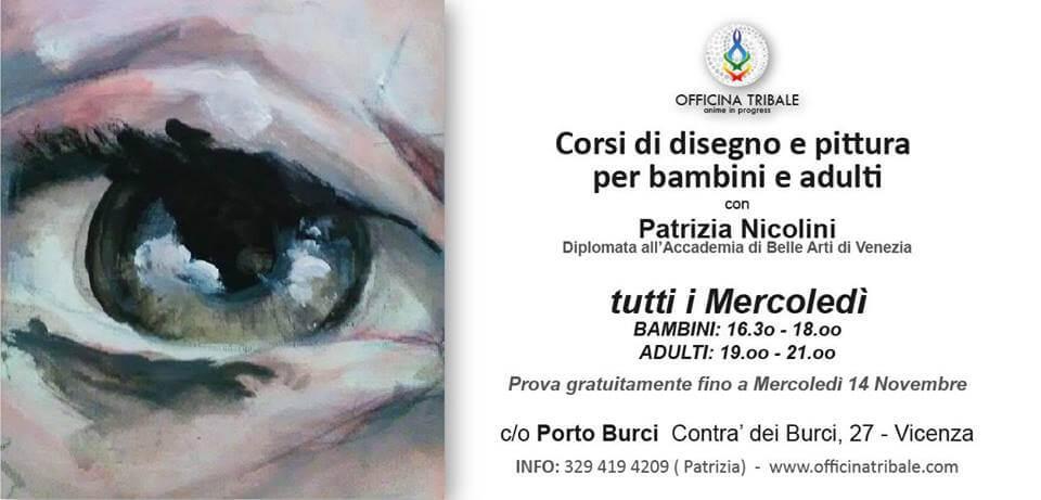 Corso di disegno e pittura con Patrizia Nicolini