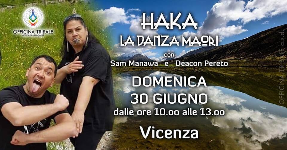 HAKA! La danza dei guerrieri Maori, workshop a Vicenza