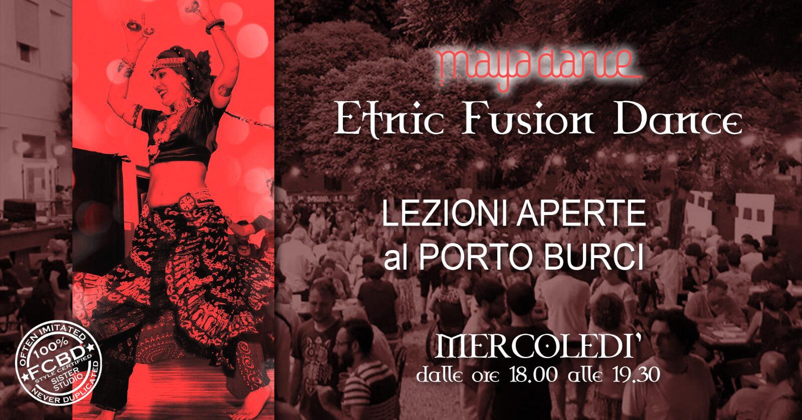ETNIC FUSION DANCE FCBD®style Lezioni aperte a luglio Vicenza