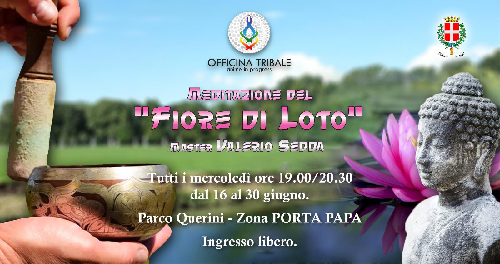 Meditazione del 'FIORE DI LOTO' Parco Querini. Gratuita!