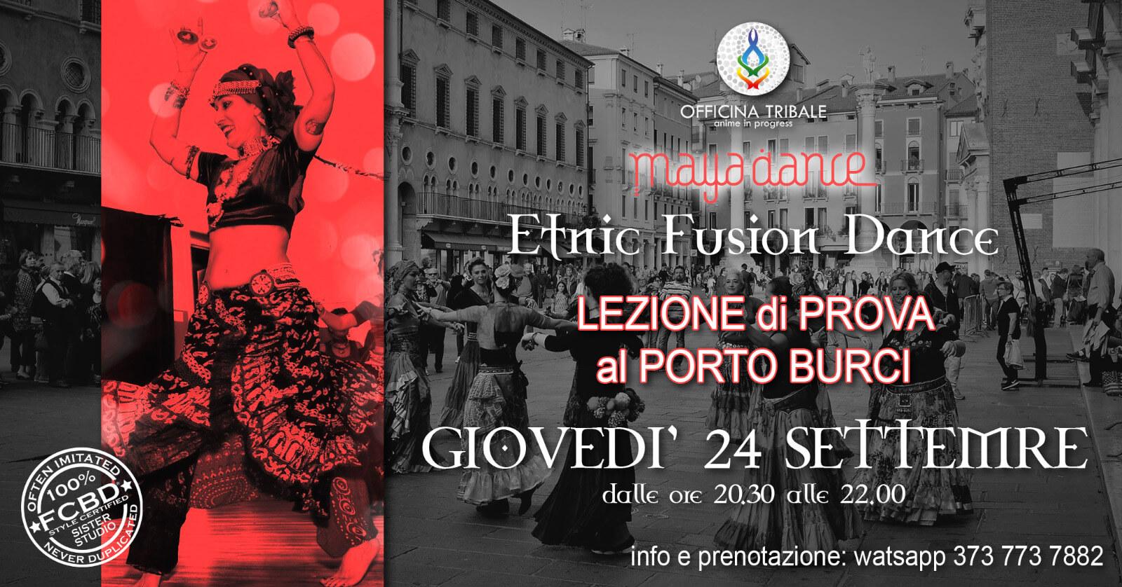 ETNIC FUSION DANCE dal 24 settembre nuovo corso a Vicenza e Thiene!