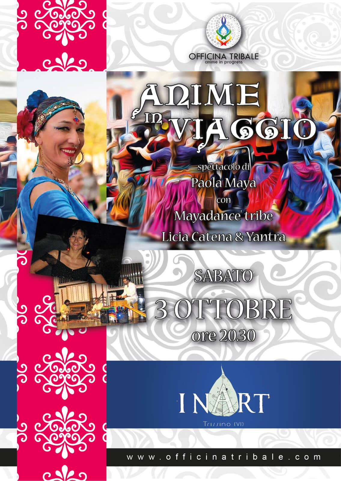 'Anime in Viaggio' spettacolo di danza & musica