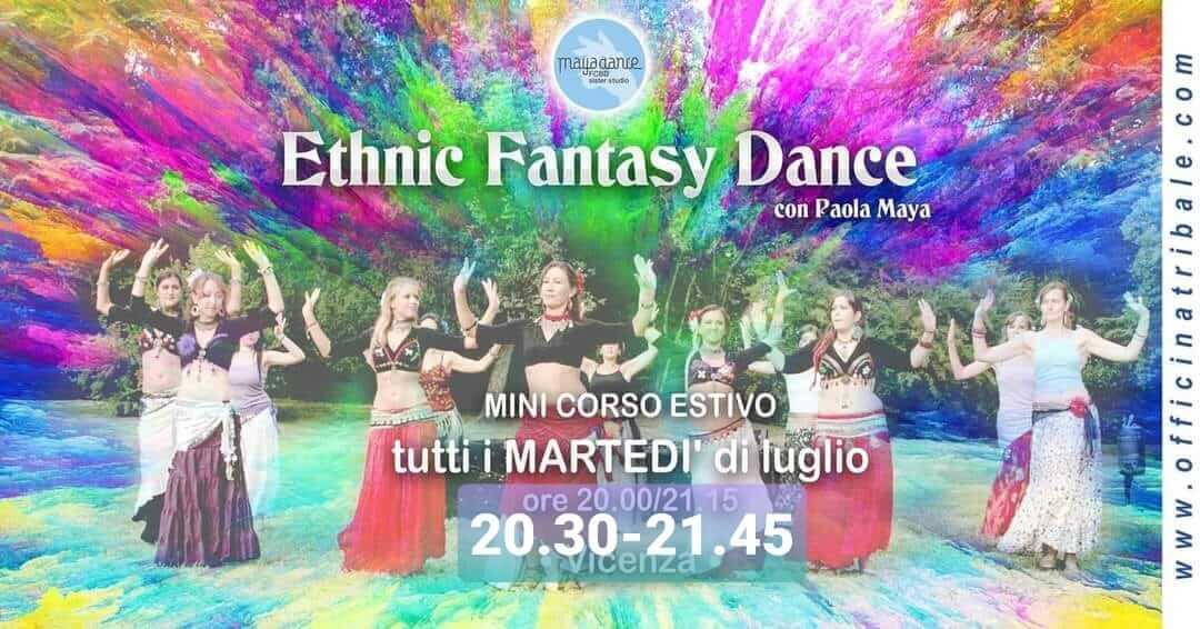 ETHNIC FANTATSY DANCE open air luglio Vicenza